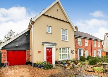 Thumbnail 3 bed detached house for sale in Chatten Close, Wrentham, Beccles