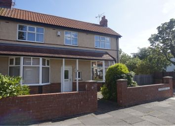 Thumbnail 4 bed semi-detached house for sale in Lyndhurst Road, Whitley Bay