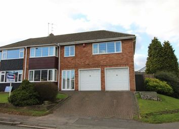 Thumbnail 4 bed semi-detached house for sale in Northway, Sedgley, Dudley
