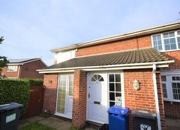 Thumbnail 2 bed flat for sale in Field Gate, Rossington, Doncaster