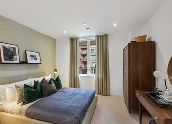 Thumbnail 2 bed flat for sale in Shackleton Way, Royal Albert Wharf, London