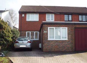Thumbnail 4 bed semi-detached house for sale in Polesteeple Hill, Biggin Hill, Kent