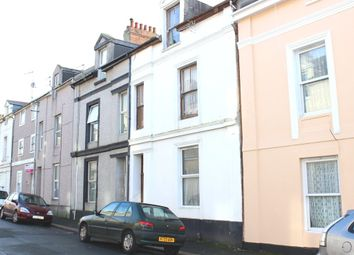 Thumbnail 5 bed terraced house for sale in Wolsdon Street, North Road West, Plymouth