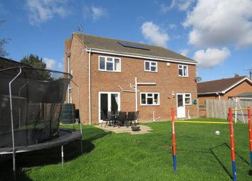 Thumbnail 4 bed detached house for sale in March Road, Guyhirn, Wisbech