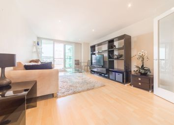 Thumbnail 2 bed flat to rent in Ensign House, St George Wharf, London