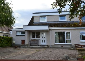 Thumbnail 3 bed semi-detached house for sale in 10 Forbeshill, Forres