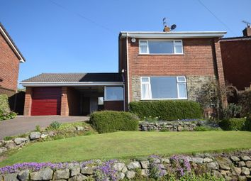 Thumbnail 3 bed detached house for sale in Rockend Drive, Cheddleton, Leek