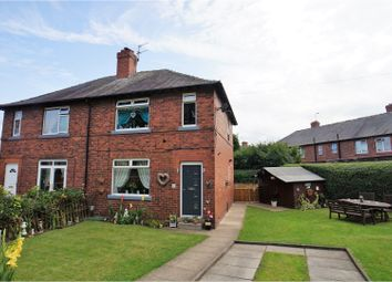 Thumbnail 3 bed semi-detached house for sale in Castle Crescent, Dewsbury