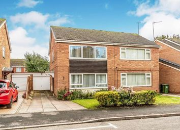 Thumbnail 3 bed semi-detached house for sale in Lincoln Close, Warwick, Warwickshire