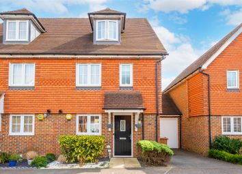 Thumbnail 4 bed semi-detached house for sale in Newman Road, Horley