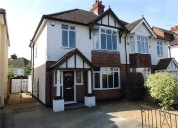 Thumbnail 3 bed semi-detached house to rent in Ashdale Avenue, Kempston, Bedford
