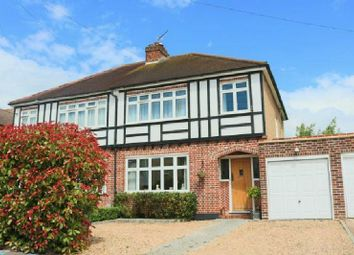 Thumbnail 3 bed semi-detached house for sale in Trevone Gardens, Pinner, Middlesex