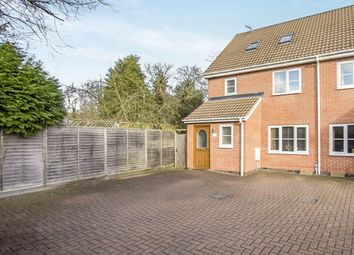 Thumbnail 3 bed semi-detached house for sale in Phillip Drive, Glen Parva, Leicester