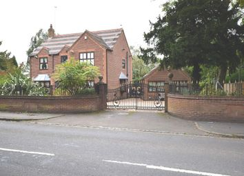 Thumbnail 4 bed detached house for sale in Keele Road, Newcastle-Under-Lyme