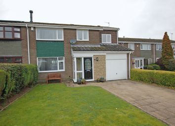Thumbnail 4 bed semi-detached house for sale in Bracken Close, Dinnington, Newcastle Upon Tyne