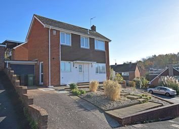 Thumbnail 3 bed detached house for sale in Aller Vale Close, Exeter