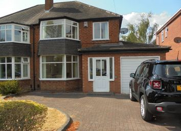 Thumbnail 3 bedroom semi-detached house to rent in Cheltondale Road, Solihull