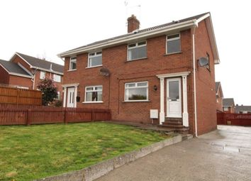 Thumbnail 3 bedroom semi-detached house for sale in Tara Crescent, Conlig, Newtownards