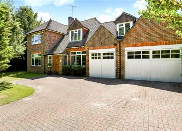 Thumbnail 5 bed detached house for sale in Tilford Road, Farnham, Surrey