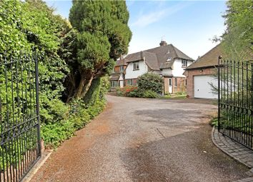 Thumbnail 4 bed detached house for sale in Priorsfield Road, Hurtmore, Godalming, Surrey