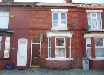 Thumbnail 2 bed terraced house for sale in Prince Edward Street, Birkenhead