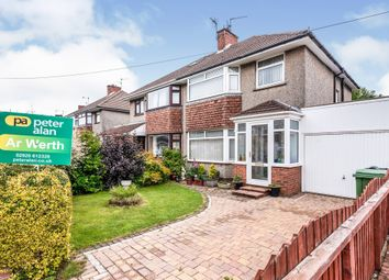 Thumbnail 3 bed semi-detached house for sale in Court Road, Whitchurch, Cardiff