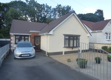 Thumbnail 4 bed detached bungalow for sale in Afan Valley Close, Cimla, Neath .