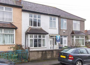 Thumbnail 3 bed terraced house for sale in Park Road, Northville, Bristol