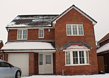 Thumbnail 4 bed detached house for sale in Lochinver Crescent, Glasgow