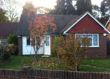 Thumbnail 4 bed detached bungalow to rent in Sandy Lane, Woking