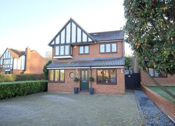 Thumbnail 4 bedroom detached house for sale in Mallow Walk, Royston