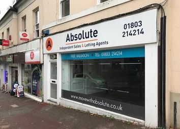 Thumbnail Retail premises to let in 10 Tor Hill Road, 10 Tor Hill Road, Torquay, Devon