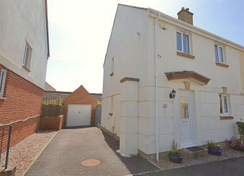 Thumbnail 3 bed semi-detached house for sale in Bramble Drive, Bridport