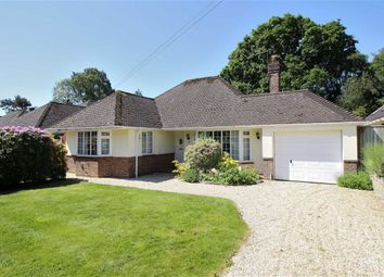 Thumbnail 3 bed detached bungalow for sale in Terrington Avenue, Highcliffe, Christchurch