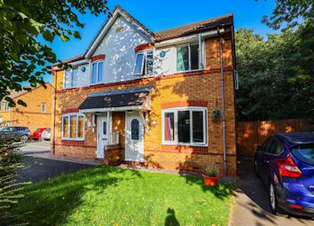 Thumbnail 3 bed semi-detached house for sale in Hawkswood Drive, Wednesbury