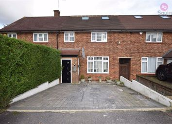 Thumbnail 3 bed terraced house to rent in Burghley Avenue, Borehamwood, Hertfordshire