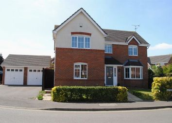 Thumbnail 4 bed detached house for sale in Jacorrin Close, Boughton Rise, Northampton