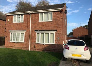 Thumbnail 2 bedroom semi-detached house for sale in Mondello Drive, Alvaston, Derby