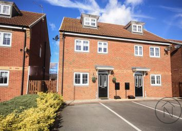 Thumbnail 3 bed semi-detached house for sale in Gardenia Way, Billingham