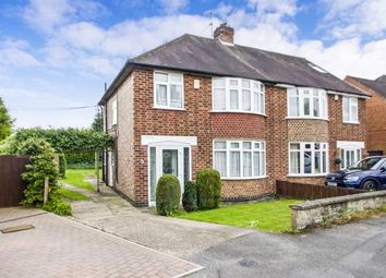 Thumbnail 3 bedroom semi-detached house for sale in Crofton Road, Attenborough, Nottingham
