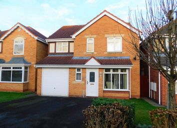 Thumbnail 4 bed detached house for sale in Cornwall Drive, Saxonfields, Stafford