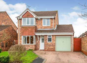 Thumbnail 3 bed detached house for sale in Blounts Drive, Uttoxeter