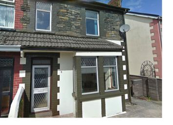 Thumbnail 1 bedroom terraced house to rent in Bell Vue Terrace, Treforest, Pontypridd