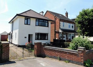 Thumbnail 3 bed detached house for sale in Leicester Road, Ravenstone, Coalville