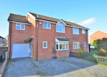 Thumbnail 4 bed semi-detached house for sale in Langney Drive, Kingsnorth, Ashford