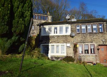 Thumbnail 1 bed cottage for sale in Wellhouse Green, Golcar, Huddersfield