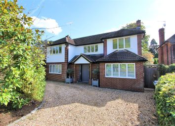 Thumbnail 4 bed detached house for sale in Blackwood Close, West Byfleet