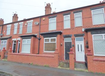 Thumbnail 2 bed terraced house to rent in Rowsley Grove, Stockport