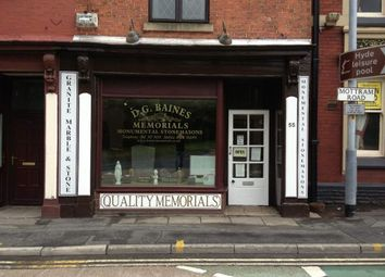 Thumbnail Retail premises for sale in Mottram Road, Hyde