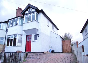 Thumbnail 3 bedroom semi-detached house to rent in Pineview Drive, Heswall, Wirral